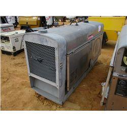 LINCOLN ELECTRIC SAE-400 WELDER GENERATOR S/N C1060300387, METER READING 1,814 HOURS