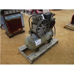 AIR COMPRESSOR, - GAS ENGINE TANK MOUNTED