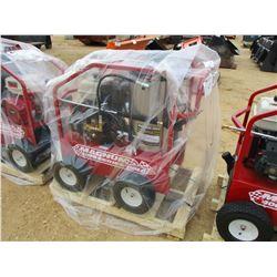 MAGNUM 400 GOLD HOT WATER PRESSURE WASHER, - 15 HP GAS ENGINE, 2 DIESEL BURNER