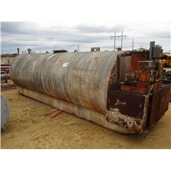 FUEL STORAGE TANK, W/PUMP, NOSE & NOZZLE (COUNTY OWNED)