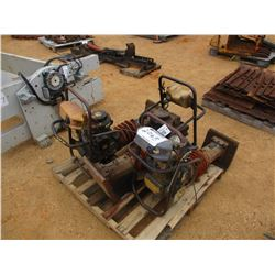 (3) MISC TRENCH TAMPS, GAS ENGINE