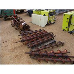 MCLAUGHLIN ML-16 BORING MACHINE, - W/ GAS ENGINE AND BITS