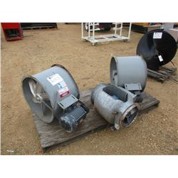 (3) EXHAUST FANS ELECTRICAL