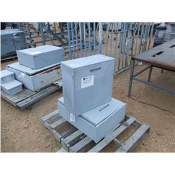 (2) ELECTRICAL BOXES