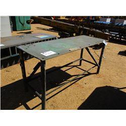 """27"""" x 6' METAL TABLE"""