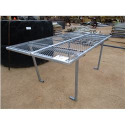 EXPANDED METAL TABLE