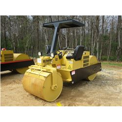 """BOMAG BW5AS ROLLER, VIN/SN:901B15811018 - VIBRATORY, TANDEM, 42"""" REAR, 39"""" FRONT, SMOOTH DRUMS, CANO"""