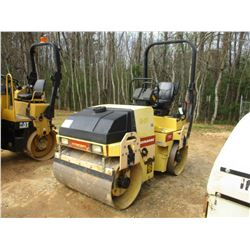 """DYNAPAC CC122 ROLLER, VIN/SN:60130625 - VIBRATORY, TANDEM, 47"""" SMOOTH DRUMS, WATER SYSTEM"""