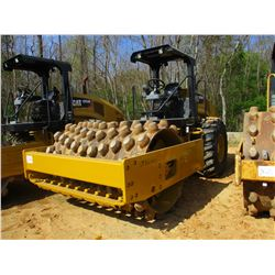 """2015 CAT CP54B ROLLER, VIN/SN:CPX00181 - VIBRATORY, 84"""" PAD, FOOT DRUM, CANOPY, METER READING 1,794"""