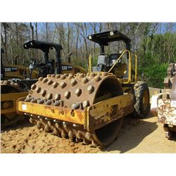 2005 CAT CS-533E ROLLER, VIN/SN:ALS00642 - VIBRATORY, SMOOTH DRUM, PADFOOT SHELL KIT, CANOPY
