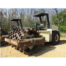 """INGERSOLL RAND SD 110F PRO-PAC ROLLER, VIN/SN:162692 - VIBRATORY 84"""" PAD FOOT DRUM, CANOPY, METER RE"""