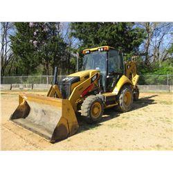 """2012 CAT 420F LOADER BACKHOE, VIN/SN:SKR00396 - 4X4, E STICK, MP BUCKET, 24"""" HOE BUCKET, ECAB W/AIR,"""