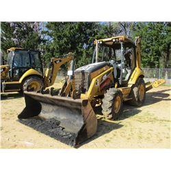 """2007 CAT 420E LOADER BACKHOE, VIN/SN:H6S03338 - 4X4, GP BUCKET, 24"""" HOW BUCKET, AUX HYD, CANOPY, MET"""