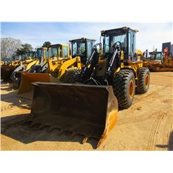 CAT IT28G WHEEL LOADER, VIN/SN:28GTD8T81394 - QUICK COUPLER, GP BUCKET, AUX HYD FORKS, ECAB W/AIR, 2