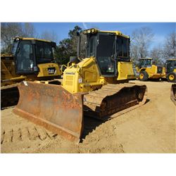 2012 KOMATSU D51PX-22 CRAWLER TRACTOR, VIN/SN:B124125 - 6 WAY BLADE, ECAB W/AIR, METER READING 7,320