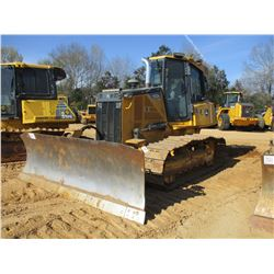 2012 JOHN DEERE 700K LGP CRAWLER TRACTOR, VIN/SN:228102 - 6 WAY BLADE ECAB W/AIR, METER READING 2,73