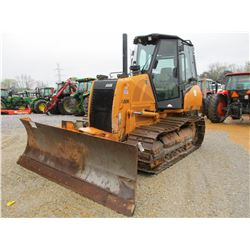 2008 CASE 850K XLT III CRAWLER TRACTOR, VIN/SN:CAL006027 - 6 WAY BLADE, ECAB W/AIR, METER READING 4,