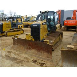 2014 CAT D3K2 LGP CRAWLER TRACTOR, VIN/SN:KLL00402 - 6 WAY BLADE, ECAB W/AIR, METER READING 1,056 HO
