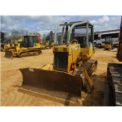 1997 KOMATSU D37E-5 CRAWLER TRACTOR, VIN/SN:3813 - 6 WAY BLADE RIPPER, CANOPY, SWEEPS, REAR SCREEN,