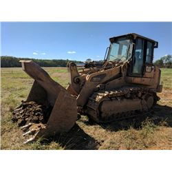 2008 CAT 963D CRAWLER TRACTOR, VIN/SN:LCS00779 - GP BUCKET W/TEETH, , ECAB W/AIR, ODOMETER READING 1