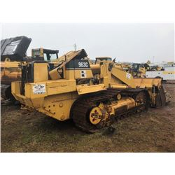 1999 CAT 963C CRAWLER TRACTOR, VIN/SN:2DS00457 - MP BUCKET, ECAB W/AIR (NO ENGINE) (SOLD SBSETEE, LO