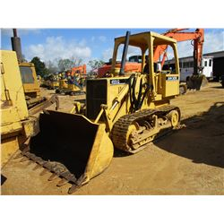 1988 JOHN DEERE 455G CRAWLER LOADER, VIN/SN:752846 - GP BUCKET, CANOPY, METER READING 7,107 HOURS