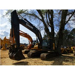 "2011 JOHN DEERE 225DLC HYDRAULIC EXCAVATOR, VIN/SN:501788 - 10' STICK, 36"" BUCKET, AUTO LUBE, ECAB W"