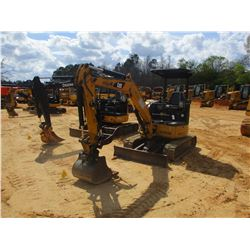 "2008 CAT 303C CR MINI EXCAVATOR, VIN/SN:BXT03111 - 4' STICK, 24"" BUCKET, HYD THUMB, AUX HYD, BLADE,"