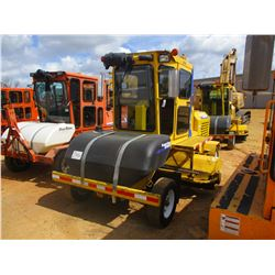 2012 SUPERIOR DT80J BROOM, VIN/SN:812505 - 8' BROOM, WATER TANK, ECAB W/AIR, METER READING 3,556 HOU