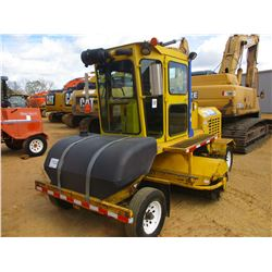 2010 SUPERIOR DT80J BROOM, VIN/SN:810981 - 8' BROOM, WATER TANK, ECAB W/AIR, METER READING 1,785 HOU