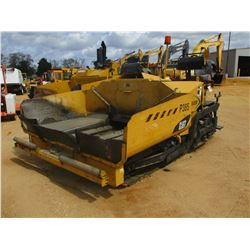 2012 WEILER/CAT P385 ASPHALT PAVER, VIN/SN:P3851155 - ON TRACKS, HYD EXTENDABLE SCREED, AUGER, METER