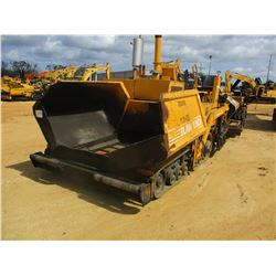 2001 BLAW KNOX PF4410 ASPHALT PAVER, VIN/SN:441003-27 - CUMMINS ENGINE, 8' 14' SCREED, METER READING