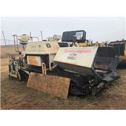 2000 CEDAR RAPIDS CR461 ASPHALT PAVER, VIN/SN:S-49452 - STRETCH 20 SCREED (ENGINE SKIPPING) (SOLD AB