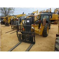2012 CAT TL642C TELESCOPIC FORKLIFT, VIN/SN:THL00165 - 6,600# CAPACITY, 42' REACH, OUTRIGGERS, ECAB