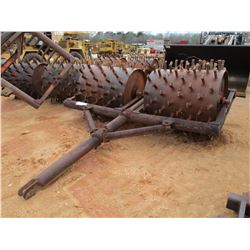 """48"""" DOUBLE DRUM SHEEPFOOT ROLLER (COUNTY OWNED)"""