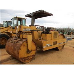 """FERGUSON 8-12B ROLLER, VIN/SN:915 - 60"""" DRUMS, CANOPY, METER READING 687 HOURS (DOES NOT OPERATE)"""