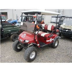 EZ-GO GOLF CART, - HIGH LIFT, REAR FLIP SEAT, SPEAKERS, CHARGER