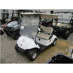 2012 YAMAHA YOREX3 GOLF CART, VIN/SN:JW9-F4236-20 - ELECTRIC POWER, CANOPY, WINDSHIELD, WEATHER ENCL
