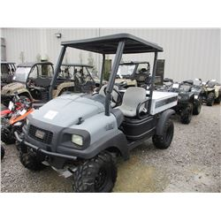 CLUB CAR CARRY ALL 295 SIDE BY SIDE ATV, VIN/SN:RC0803860637 - 4X4, CANOPY, REAR BED, METER READING
