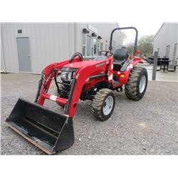 2014 MAHINDRA ML 3016 HST FARM TRACTOR, VIN/SN:30H130190031 - MFWD, 3 PTH, PTO, 115 FRONT LOADER ATT