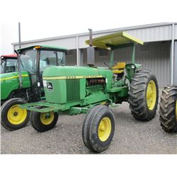 1978 JOHN DEERE 2840 FARM TRACTOR, VIN/SN:298528 - 3 PTH, PTO, 2 REMOTES, CANOPY, 18.4-34 TIRES