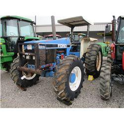 1991 FORD 6640 FARM TRACTOR, VIN/SN:BC70E0 - MFWD, 3 PTH, PTO, CANOPY