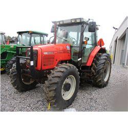 2002 MASSEY FERGUSON 6255 FARM TRACTOR, VIN/SN:L144038 - MFWD, 3 PT HITCH, PTO, LITTLE INDUSTRY HD 4