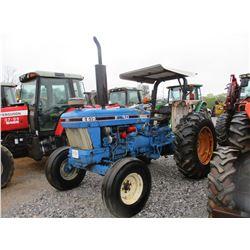 1979 FORD 6610 FARM TRACTOR, VIN/SN:BC60585 - 3 PTH, PTO, 1 REMOTE, CANOPY, 16.9-30 TIRES