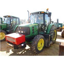 2012 JOHN DEERE 6430 FARM TRACTOR, VIN/SN:707894 - MFWD, 3 PTH, PTO, 2 REMOTES, ALAMO MAVERICK 60 SI