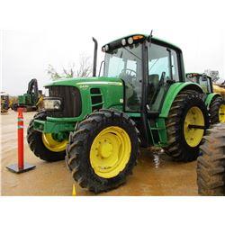 2008 JOHN DEERE 6430 FARM TRACTOR, VIN/SN:556369 - MFWD, 3 PTH, PTO, 3 REMOTES, ECAB W/AIR, 480/85R3