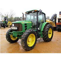 2008 JOHN DEERE 6430 FARM TRACTOR, VIN/SN:558033 - MFWD, 3 PTH, PTO, 3 REMOTES, ECAB W/AIR, 18.4-34