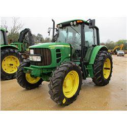 2008 JOHN DEERE 6430 FARM TRACTOR, VIN/SN:558039 - MFWD, 3 PTH, PTO, 3 REMOTES, ECAB W/AIR, 18.4-34