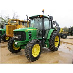 2010 JOHN DEERE 6430 FARM TRACTOR, VIN/SN:658592 - 4X4, 3 PTH, PTO, 3 REMOTES, ECAB W/AIR, 18.4-34 T