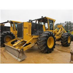 2015 TIGERCAT 620E SKIDDER, VIN/SN:6206613 - GRAPPLE, DUAL ARCH, WINCH, ECAB W/AIR, 30.5-32 TIRES, M